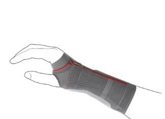 Kompresná ortéza zápästia Sensa Line: pomáha pri každom pohybe ruky